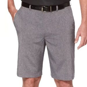Men's PGA Tour Heather Gray Stretch Golf Shorts